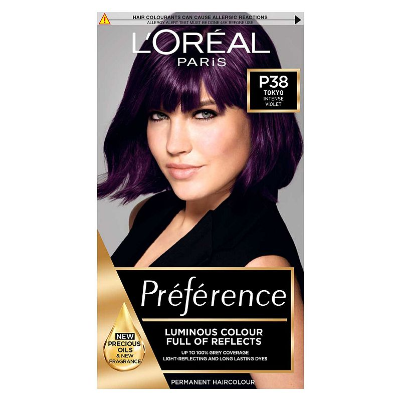 Feria Midnight Star Violet Soft Black My Hair Grabs The Warmer Tones It Turns Out Rather Red
