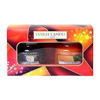 yankee candle autumn 2 small jar candle gift set boots. Black Bedroom Furniture Sets. Home Design Ideas