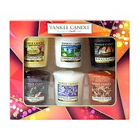 yankee candle autumn 6 votive candle gift set boots. Black Bedroom Furniture Sets. Home Design Ideas
