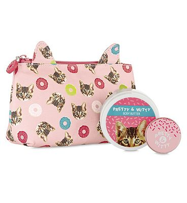Pretty & Witty All Ears Cosmetic Purse.