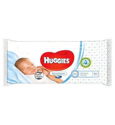 Huggies Newborn 56 Baby Wipes