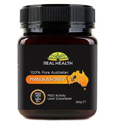 Real Health Manuka Honey MGO 500 - 250g.