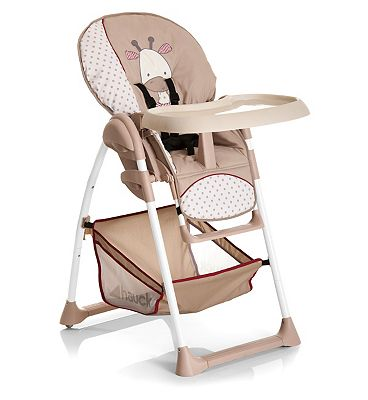 Hauck Sit'n Relax Highchair-Giraffe.