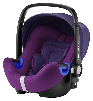 Britax Romer Baby-Safe i-Size Group 0 Car Seat - Mineral Purple