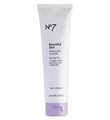 Click to view product details and reviews for No7 Beautiful Skin Melting Gel Cleanser Normal Dry 150ml.