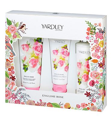 Yardley English Rose Bath and Body set