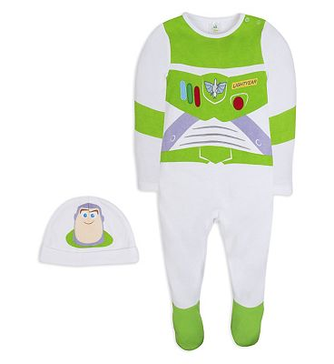 Mini club Toy story all in one and hat NEWBORN (Up to 4.5 kg)
