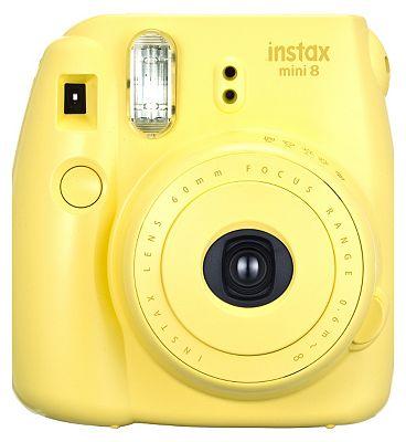 Image of Instax Mini 8 Yellow Plus10 Shots