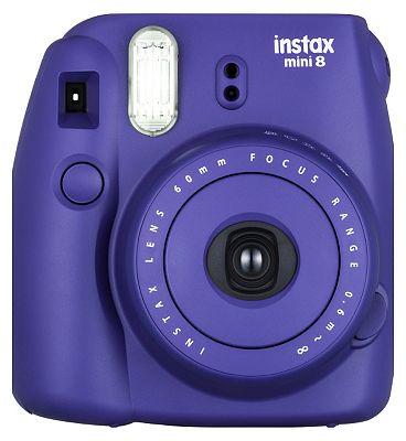 Image of Instax Mini 8 Grape Plus10 Shots