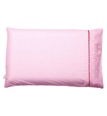 ClevaMama Baby Pillow Case  Pink