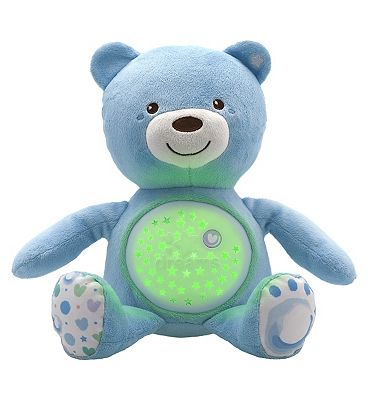 Chicco Baby Bear Night Light - Blue