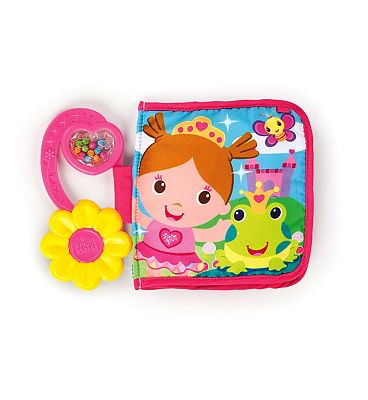 Bright Starts Pretty Palace Activity Crinkle Book Toy