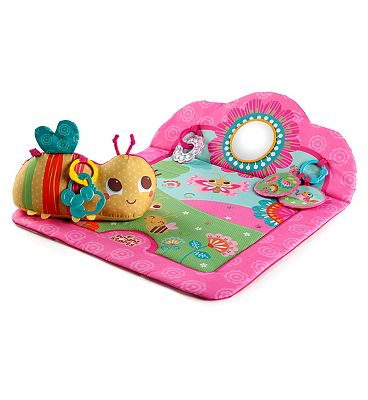 Bright Starts Flowers Friends Play Mat