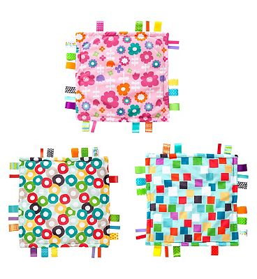 Bright Starts Little Taggies Blanket Toy