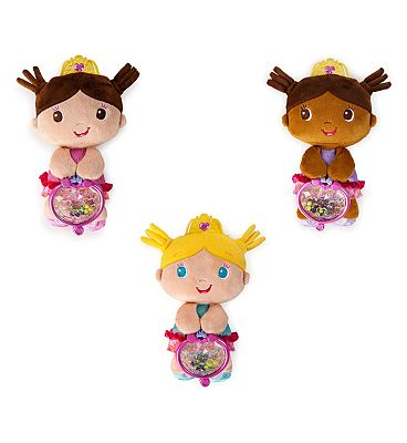 Bright Starts Little Plush Princess Doll Toy