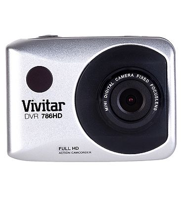 Image of Vivitar DVR786HD Action Cam - White
