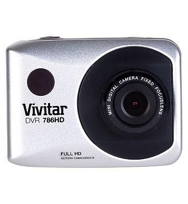Vivitar DVR786HD Action Cam  White