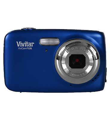 Image of Vivitar F126 (14MP, 4x Digital Zoom,1.8inch Display) Digital Camera - Blue