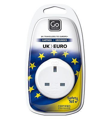 Go Travel UK to Europe Adaptor