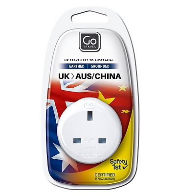 Go Travel UK to Australia and the Far East Adaptor