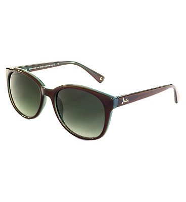 Joules Brown and Turquoise Signature Sunglasses