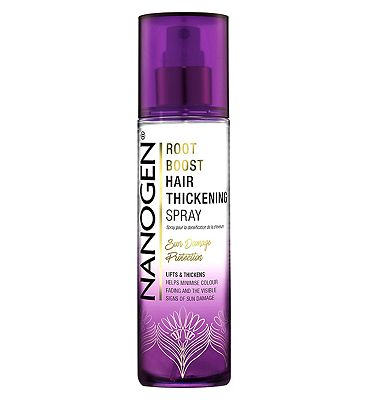 Nanogen root boost hair thickening spray with sun damage protection 100ml