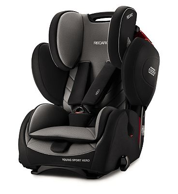 Recaro Young Sport Hero Car Seat  Carbon Black