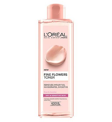 L'Oreal Paris Fine Flowers Cleansing Toner 400ml.