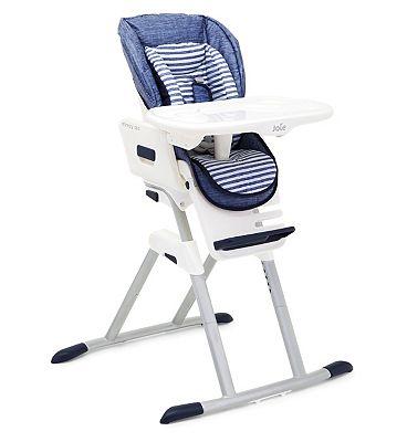 Joie Mimzy 360 Highchair - Denim.