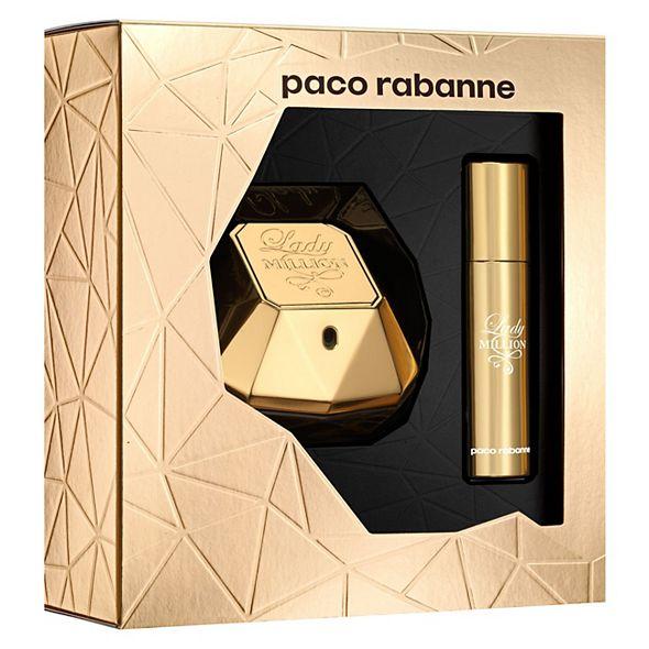 paco rabanne Lady MILLION Eau de Parfum 50ml & 10ml Travel Spray Gift Set