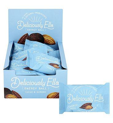 Deliciously Ella Cacao & Almond Energy Ball 12 x 40g.