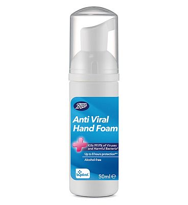 Boots Anti Viral Hand Foam  50 ml