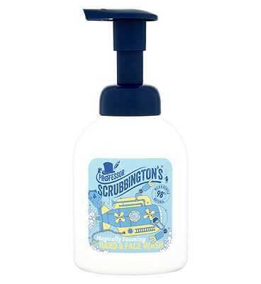 Professor Scrubbington's Magically Foaming Hand & Face Wash 200ml.