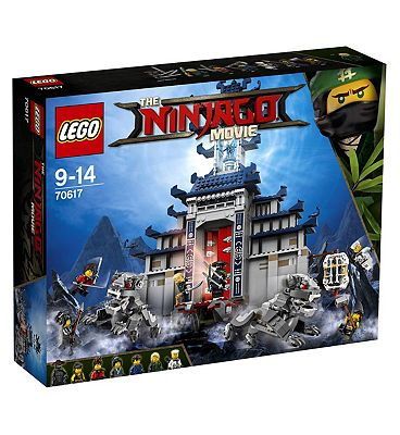 THE LEGO NINJAGO MOVIE Temple of The Ultimate Ultimate Weapon 70617.
