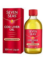 Seven Seas Omega-3 Fish Oil Plus Cod Liver Oil Extra High Strength - 300ml