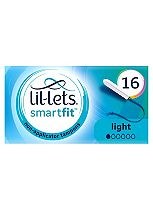 Lil-Lets Non-Applicator Tampons Lite 16 Pack