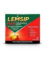 Lemsip Max Cold & Flu Capsules (16 Capsules)