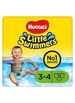 Huggies Little Swimmers Unisex Small - 12 Pants