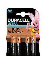 Duracell Ultra Power AA Alkaline Batteries - 4x pack