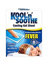 Kool'n'Soothe Soft Gel Sheets - 4 pack