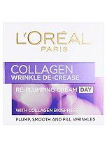 L'Oreal Wrinkle De-Crease Collagen Re-Plumper Day Cream - 50ml