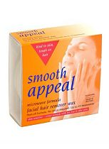 Smooth Appeal Microwave Formula Facial Hair Remover Wax
