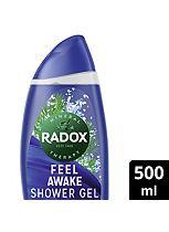 Radox Feel Awake for Men 2 in 1 Shower & Shampoo 500ml