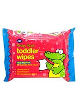 Boots Krazy Kroc Berry Fragrance Toddler Wipes - 1 x 60 Pack Wipes