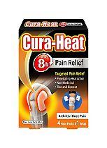 Cura-Heat Arthritis Pain Knee - 4 pack
