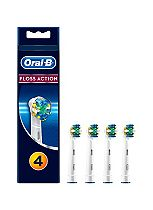 Oral-B Floss Action Brush Heads 4 Pack