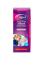 Calpol Sugar Free Infant Suspension 2+ months
