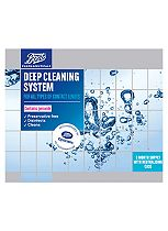 Boots Pharmaceuticals Preservative Free deep cleaning system - 3 x 360ml and 3 x neutralising case