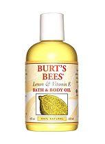Burt's Bees Lemon & Vitamin E Body & Bath Oil 118ml