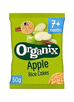 Organix Finger Foods Apple Rice Cakes 7+ Months Stage 2 50g